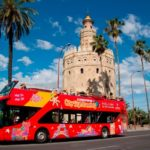 touristic bus of Seville