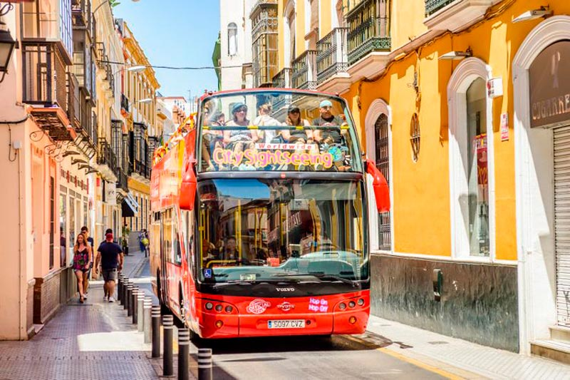 Tickets for Seville's tourist buses