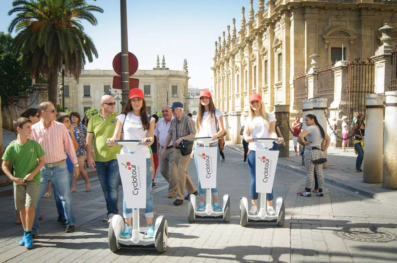 Segway ride around Seville