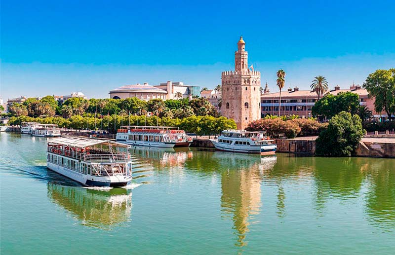 RIVER CRUISE IN SEVILLE