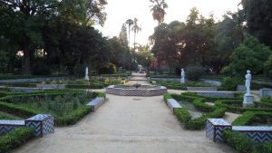The park of María Luisa