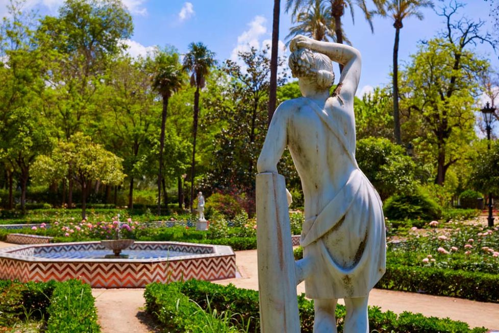 The Maria Luisa Park of Seville