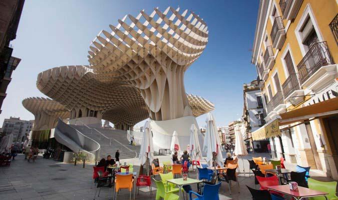mushrooms setas encarnacion metropol parasol seville