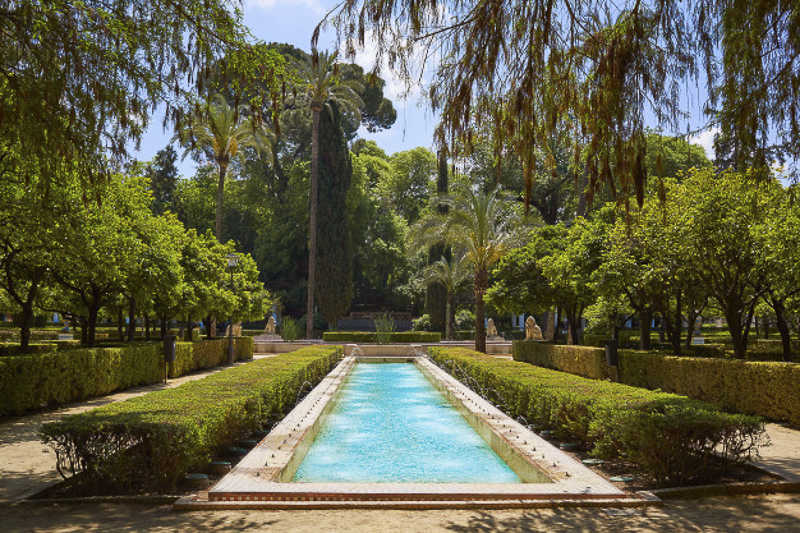Maria Luisa Park Seville https://seville-city.com/