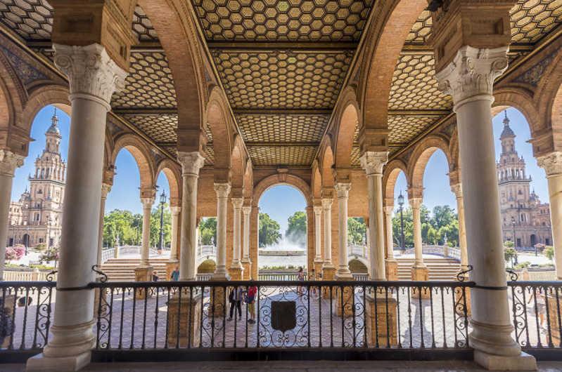 Plaza Espana Seville https://seville-city.com/