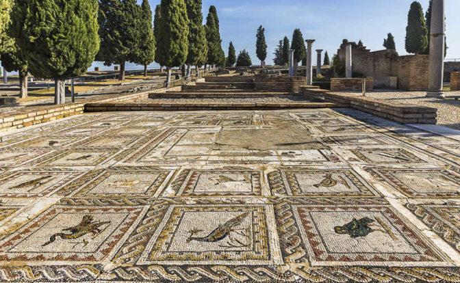 Ruins of Italica in Seville