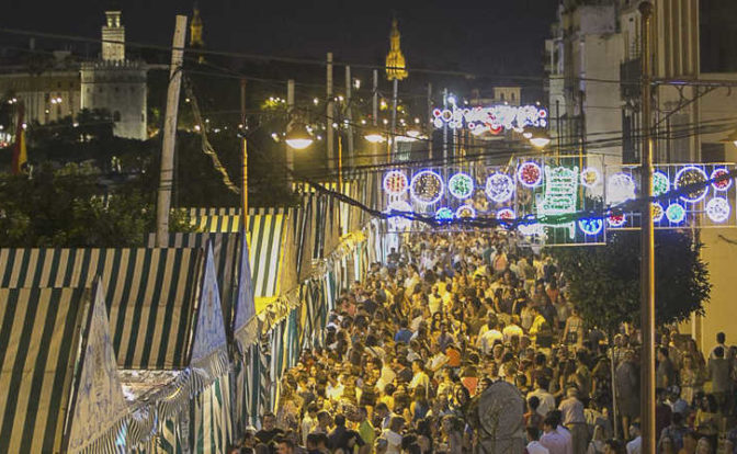 Fair of Santiago and Santa Ana in Triana, La Velá