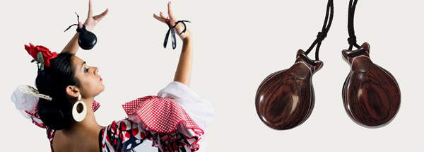 dancing with castanets