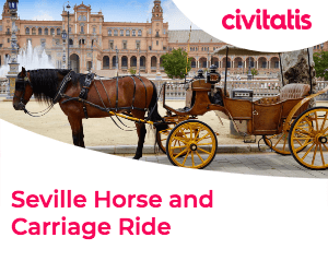 Horse-drawn carriage ride in Sevilla