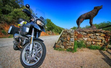 motorbike routes around Seville