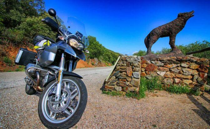 motorbike routes around Seville